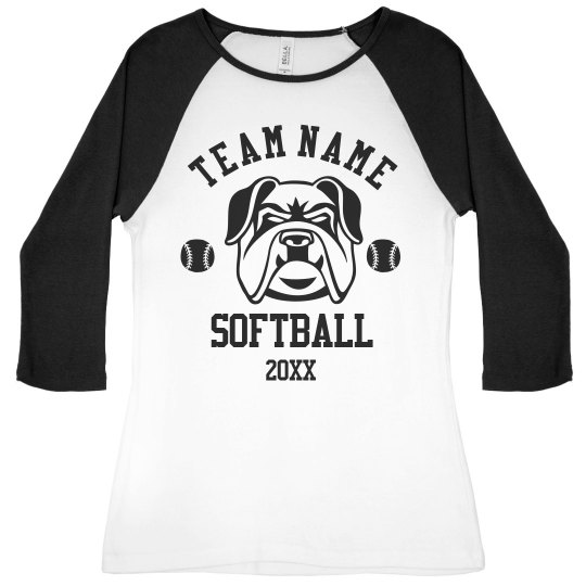 Personalized Softball Team Edit This Design