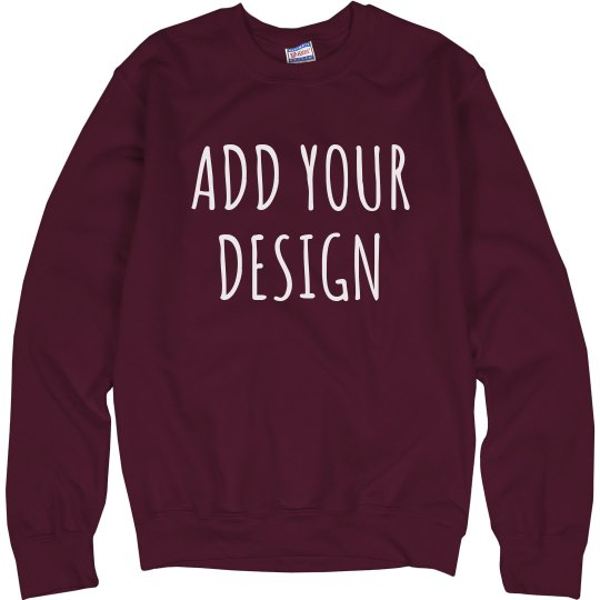 Personalized Sweatshirts No Minimum