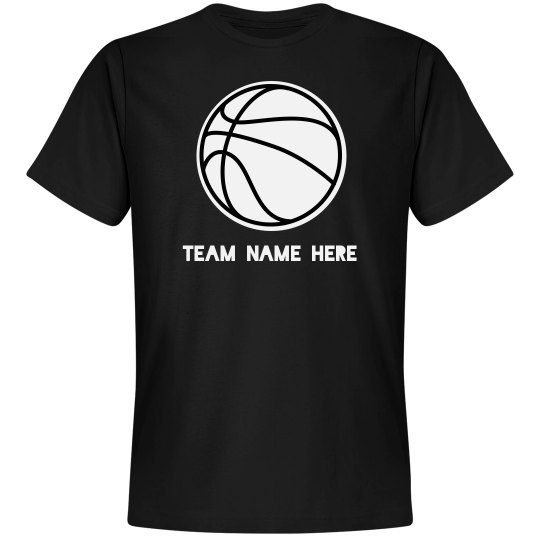 Personalized Team Name Basketball Shirt