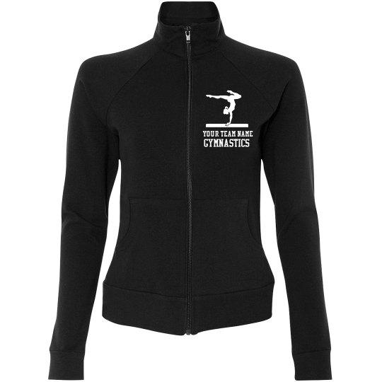 Personalized Team Name, Gymnastics Jacket