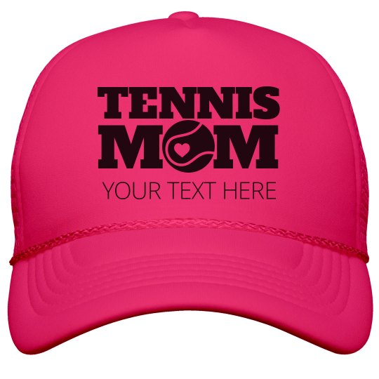 Personalized Tennis Mom Summer Gear
