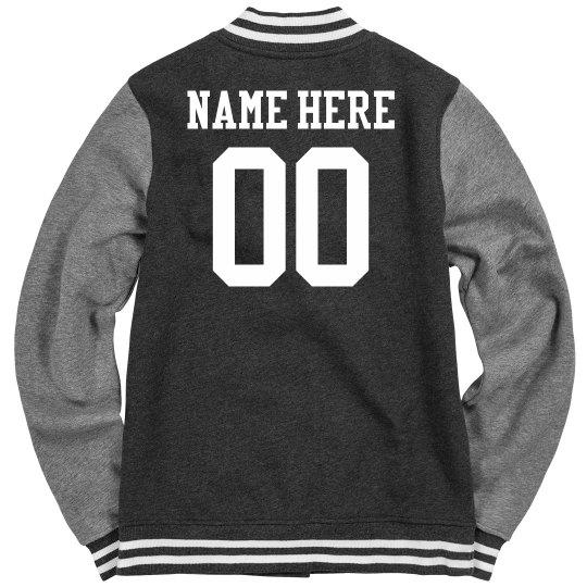 Personalized Women's Varsity Jacket