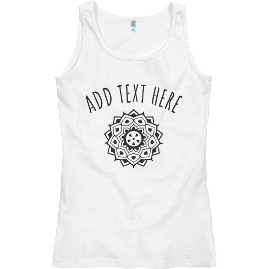 Personalized Yoga Comfy Tank