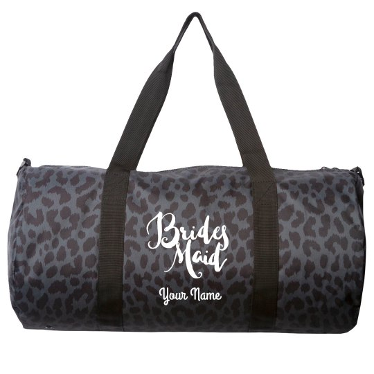 Personalized Your Name Bridesmaid Duffel