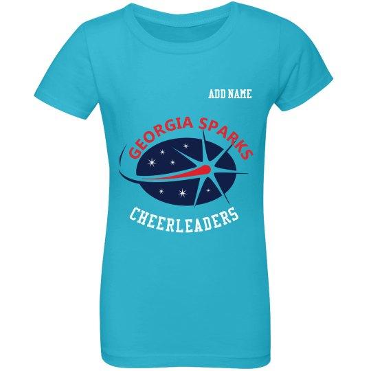 PersonalizedGeorgia Sparks T Shirt