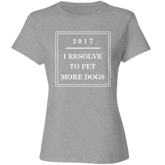 Pet More Dogs This Year Resolution