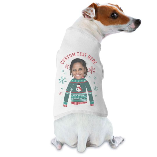 Pet Owner Custom Christmas Sweater
