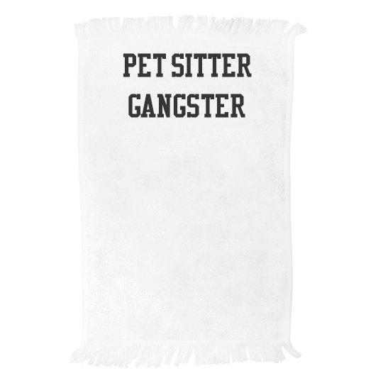 Pet Sitter Gangster™️ Trunk Towel