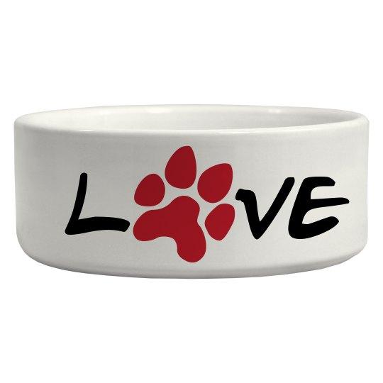 Pet Style - Love Bowl