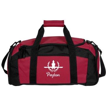 Peyton. Gymnastics bag