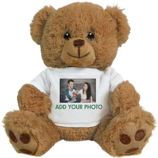 Photo Upload Custom Text Bear