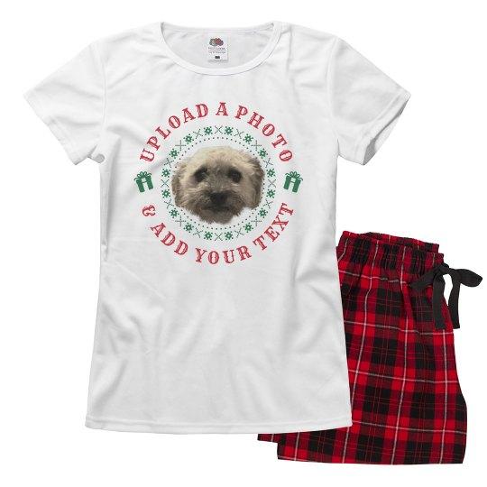 Photo Upload Family Christmas Pajamas