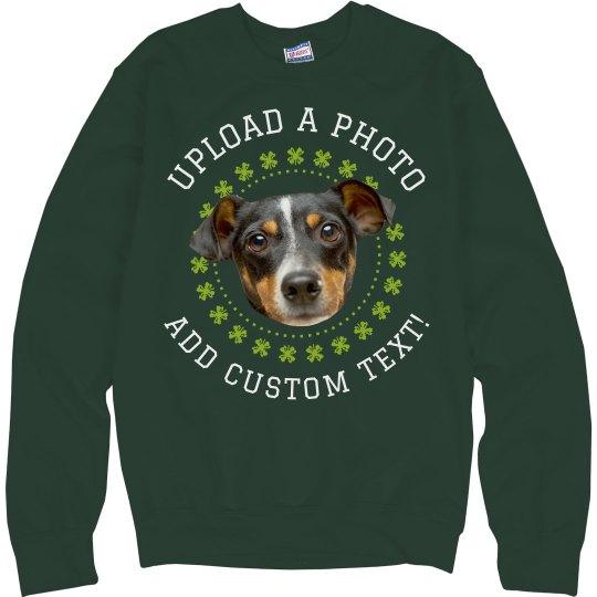 Photo Upload Irish Ugly Sweater