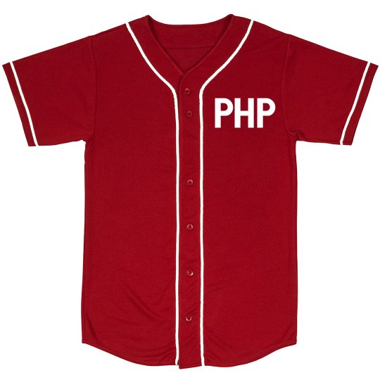 """PHP """"HOME RUN PHP EDITION"""" JERSEY"""