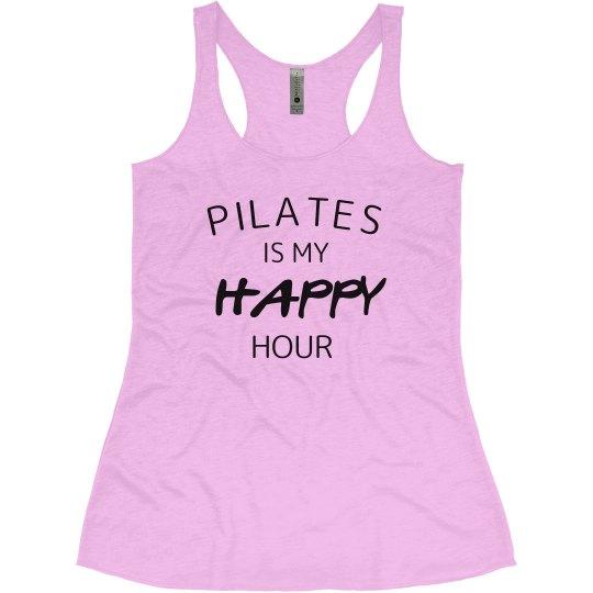 Pilates is happy hour