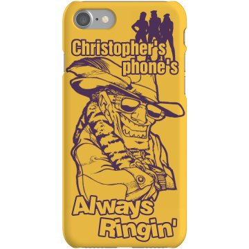 Pimp Chris iPhone Cover