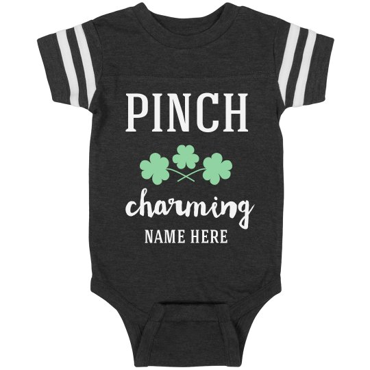 Pinch Charming Custom Baby Infant St. Patrick's Day