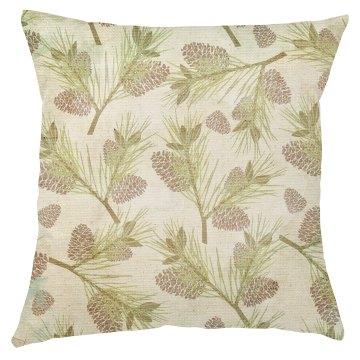 Pinecone Christmas Pillow