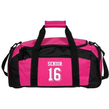 Pink Black & White Bag