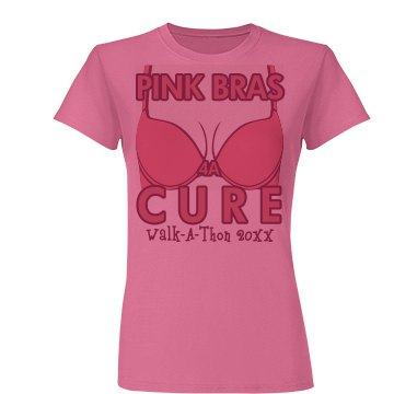 Pink Bras For A Cure
