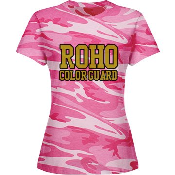 Pink Cammo Guard