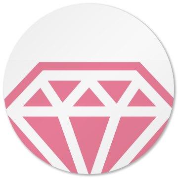 Pink Diamond Coaster