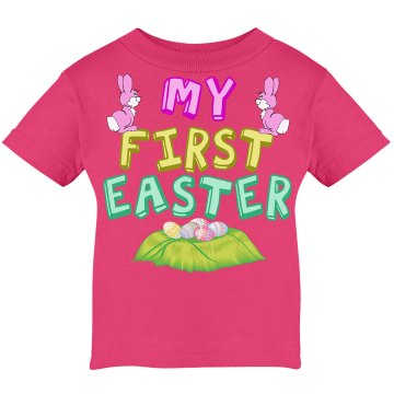 Pink Easter Baby