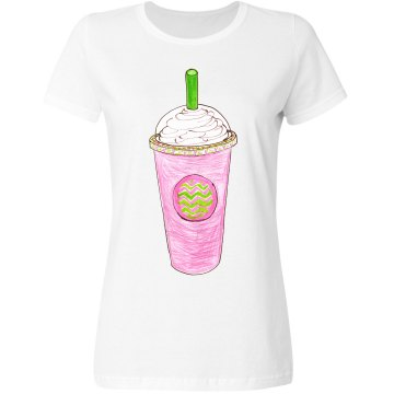 Pink Green Frappucino