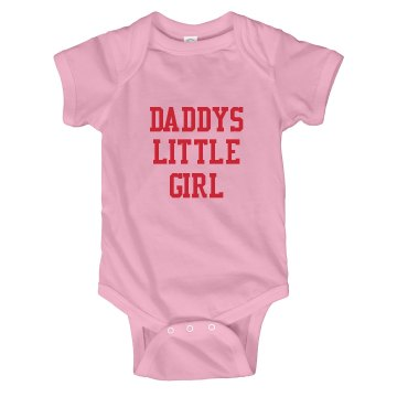 Pink Infant top with words