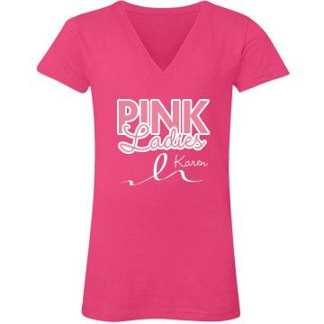 Pink Ladies Pink Ribbon