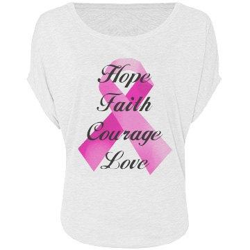 Pink Ribbon Faith Shirt