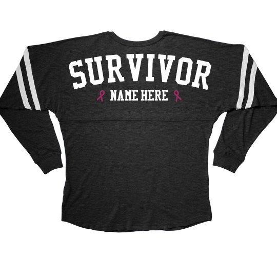 Pink Ribbon Survivor Jersey
