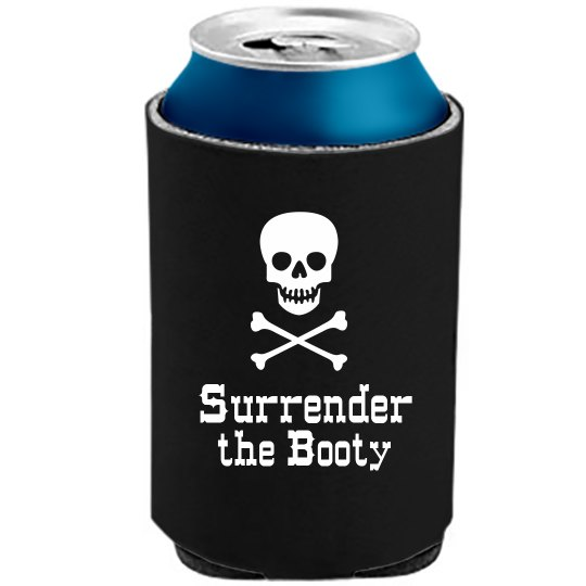 Pirate Can Cooler