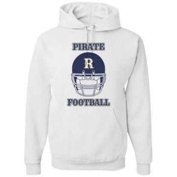 Pirate Football Hoodie