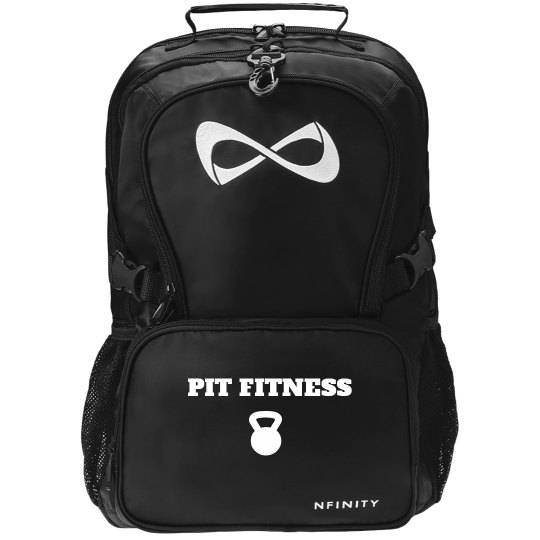PIT Fitness Black Back Pack