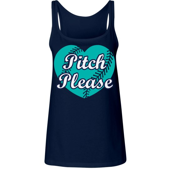 Pitch Please softball tank