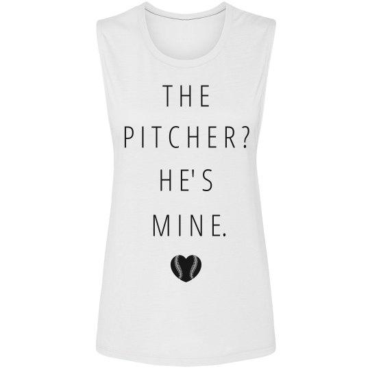 Pitcher's Girlfriend Tank