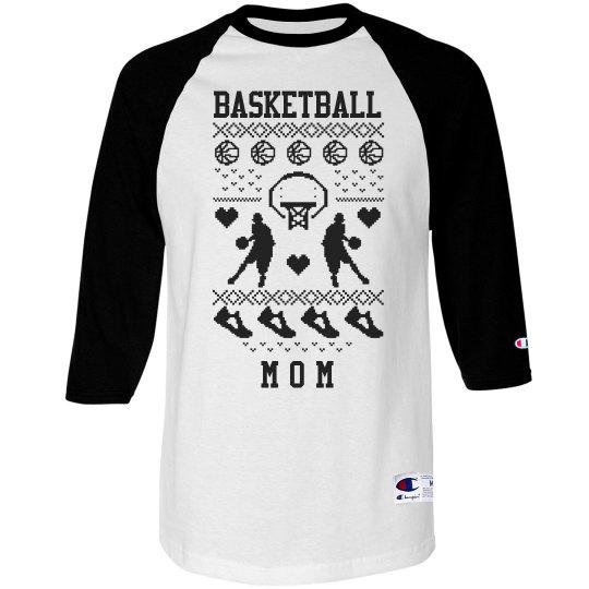 Pixel Basketball Mom