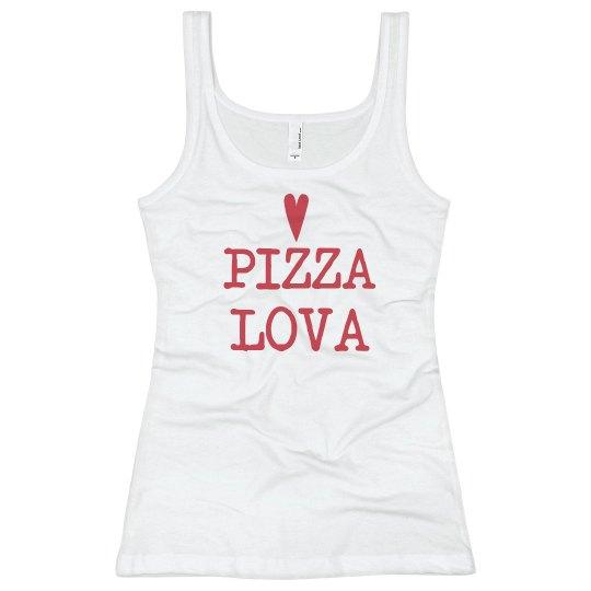 Pizza Lova Heart
