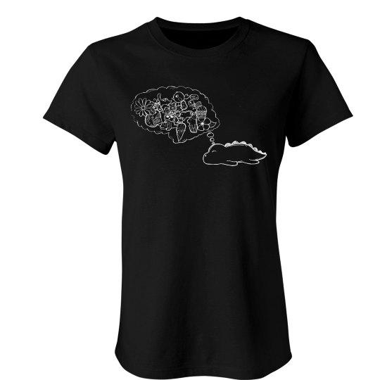 PJ's Dino Dream woman's shirt