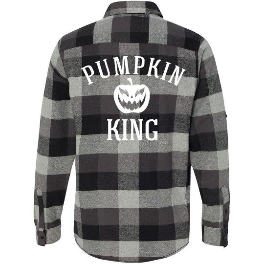 Plaid Glow Pumpkin King