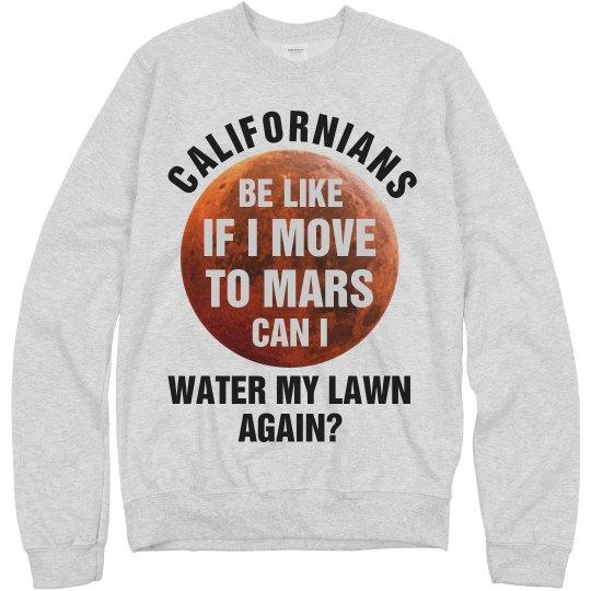 Planet Mars Funny Shirt