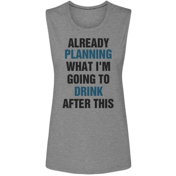 Planning To Drink After Run
