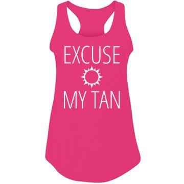 Please Excuse My Tan