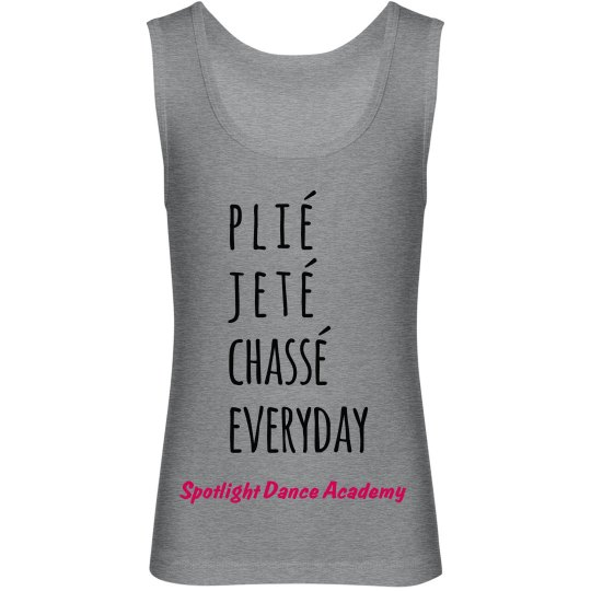 Plie Jete Chasse Tank-Youth