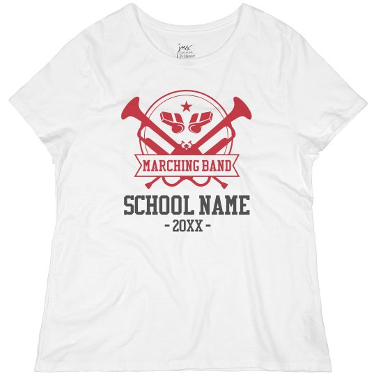 Plus Marching Band School Tee