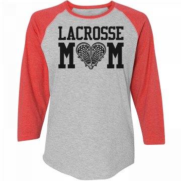 Plus Size Lacrosse Mom Shirts