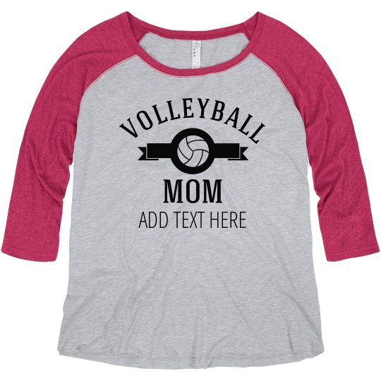 Plus Size Volleyball Mom Shirts