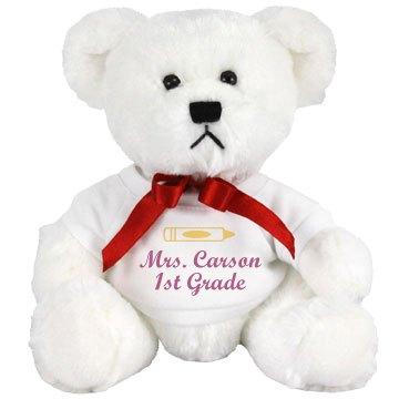 Plush Teddy Teacher Gift