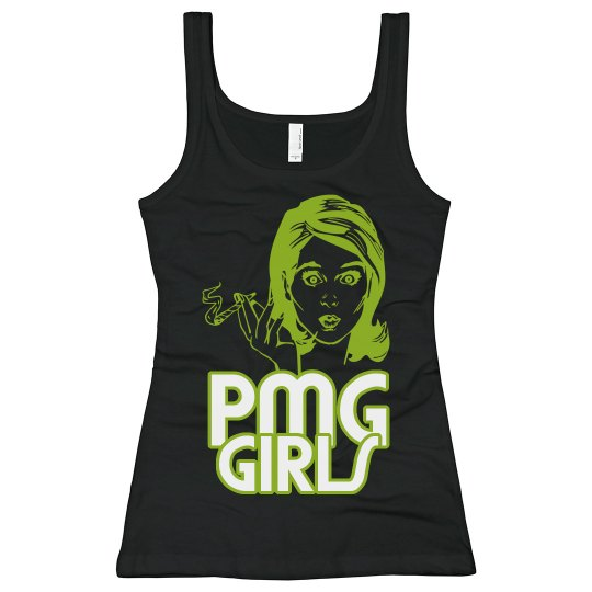 "PMG GIRLS ""420 BLACK"" LONG TANK"